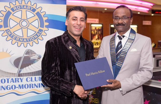 AB Moosa awarded prestigious Paul Harris Award