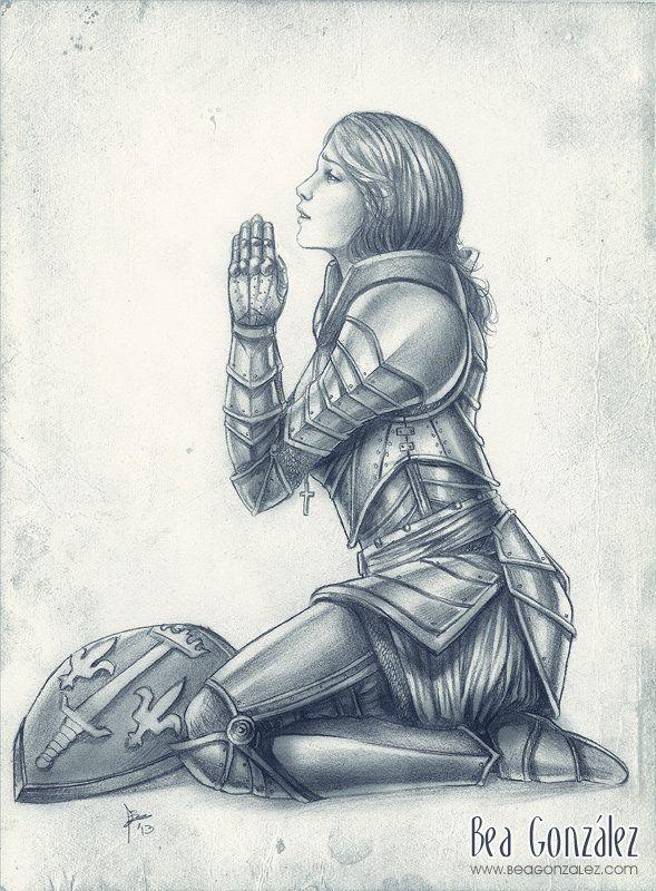Commission -Joan of arc by Bea-Gonzalez.deviantart.com on @deviantART