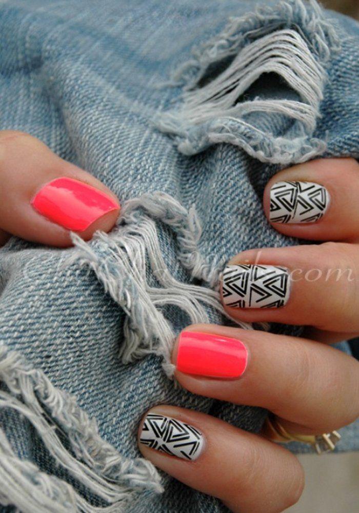 Les tendances nail art de l'été 2015 - Marie Claire