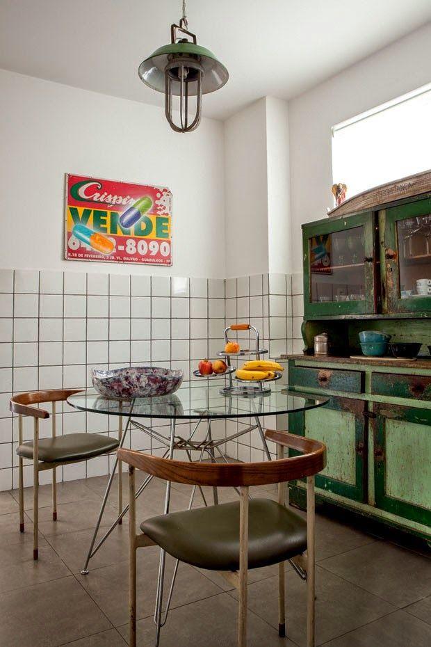 Seguimos en Brasil: Una casa de estilo retro en Sao Paulo   Etxekodeco