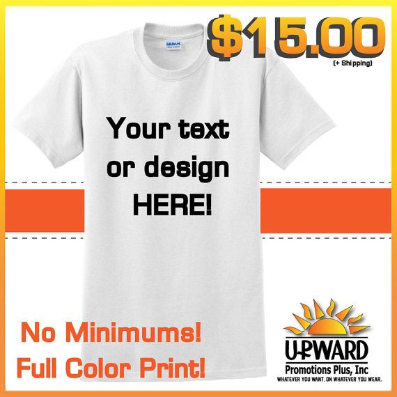 Create a custom shirt.  Kids art, cute quotes, song lyrics, ANYTHING! $15.00!!! #customshirt #designyourown #creatashirt