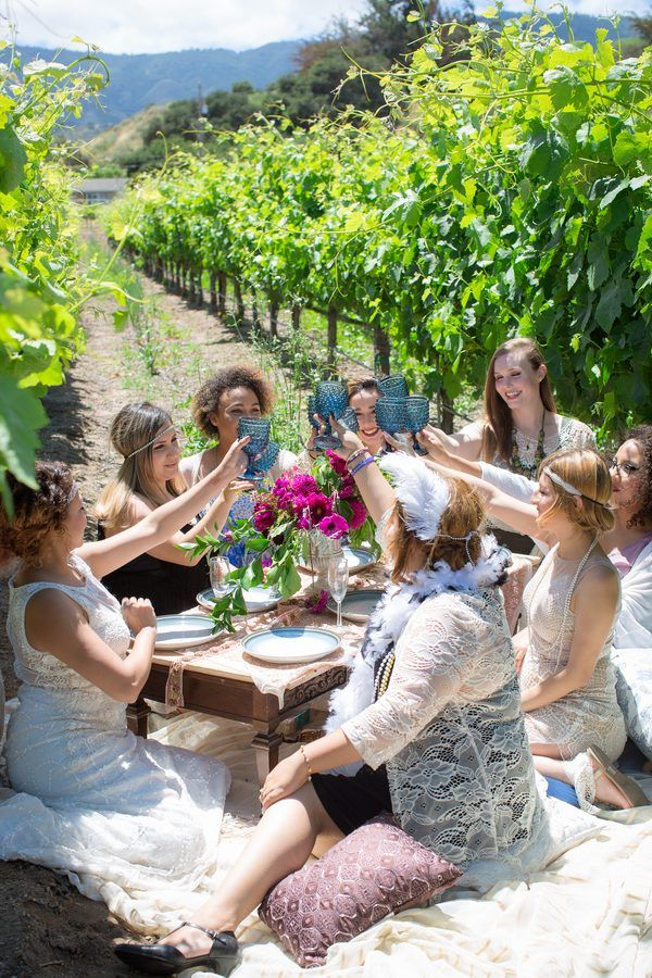 Bridal shower in the vineyards, Vanessa Hicks Photography, http://mytrueblu.com/2016/06/20/winery-bridal-shower-manzoni-estate-vineyard/