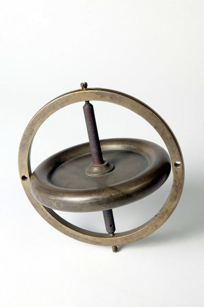 "1860 British Gyroscope at the Victoria and Albert Museum of Childhood, London - From the curators' comments: ""The Victorian era was a time when the study of science was greatly encouraged. Toys that were also educational, such as this gyroscopic top, were very popular. Gyroscopes were used as balance levels in airplanes and submarines."""
