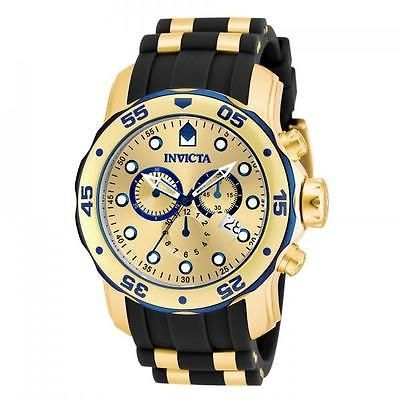 Invicta Gold Watch Mens
