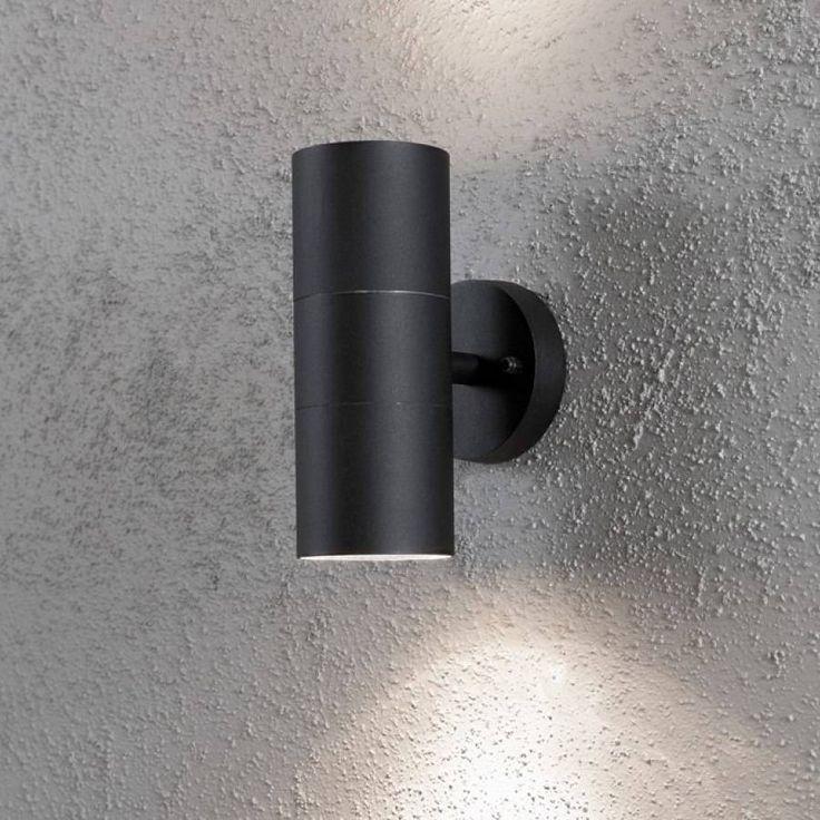 26€  Seinävalaisin Modena Max 7656-750 75x130x195 mm ylös/alas musta