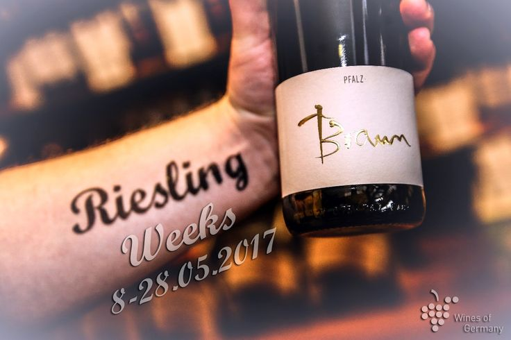 W dniach od 8 do 28 maja br., Niemiecki Instytut Wina wraz z partnerami z całej Polski, organizuje trzecią już edycję Tygodni Rieslinga. W akcji wezmą udział restauracje, winebary oraz sklepy specjalistyczne. Celem wiosennej kampanii jest promowanie jakości i wspaniałego smaku niemieckiego Rieslinga. http://exumag.com/riesling-weeks/