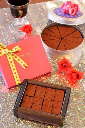 とろける生チョコレシピ。プレゼントにも自分用にもおすすめ♪