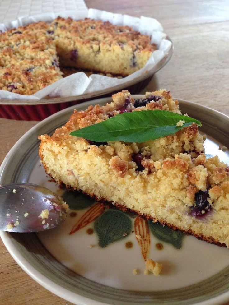 Un goûter sans gluten, sans sucre... !!! Comment ça, un cake en carton ? Mais non, un truc de ouf à la myrtille, parfumé à l'amande !