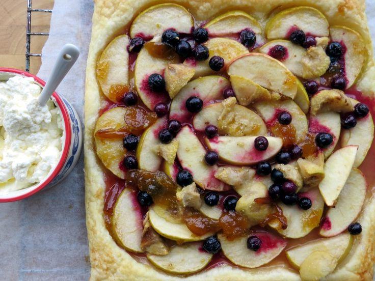 Quick apple tart