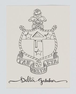 Delta Gamma Crest
