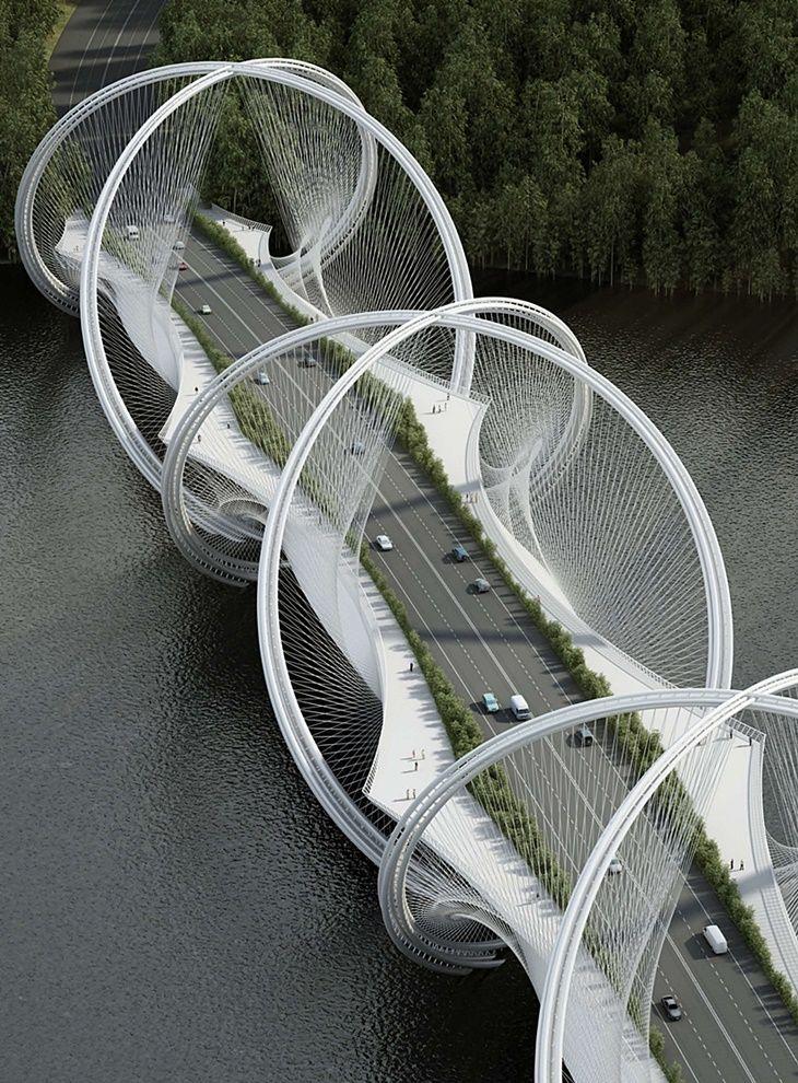 San Shan Bridge - Beijing.                                                                                                                                                                                 More