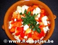 Paprika Appelsalade