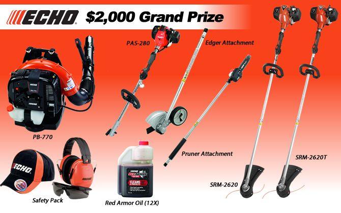 FocusOn - Win 1 of 3 Echo Lawn Equipment Prize Packages - http://sweepstakesden.com/focuson-win-1-of-3-echo-lawn-equipment-prize-packages/