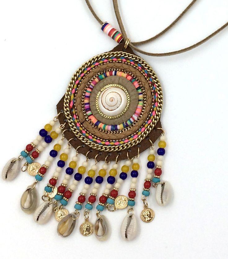 2017 New personalized handmade hawaiian jewelry wholesaler statement  dream catcher Bib long  Necklaces for women