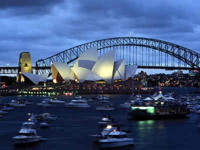 my first home in Australia.  it is the most beautiful harbour in the world.