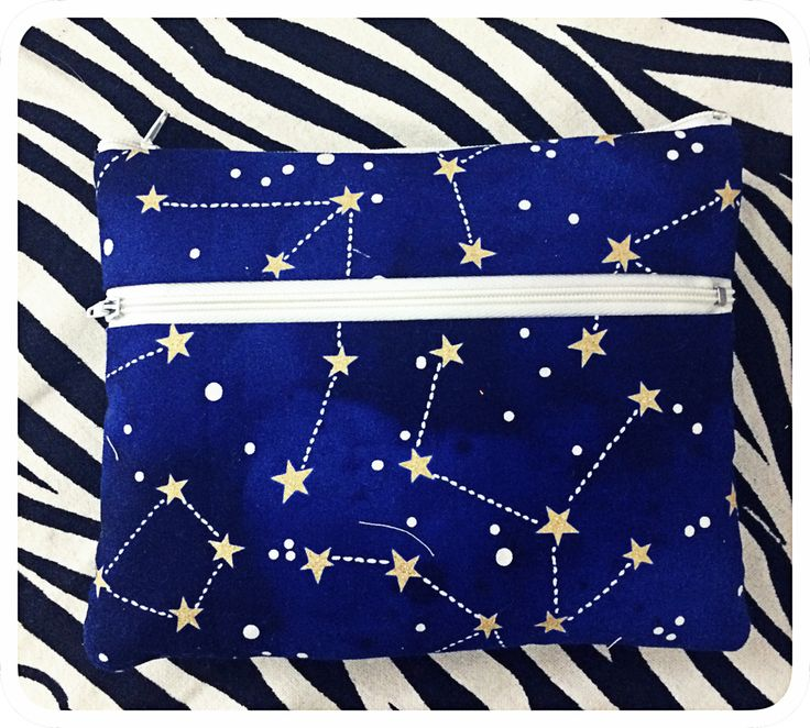 DOUBLE ZIPPER POUCH ⭐️⭐️⭐️