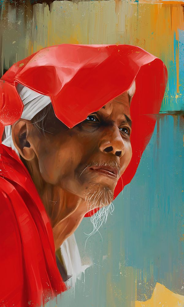 Amazing Portrait Paintings by Denis Gonchar