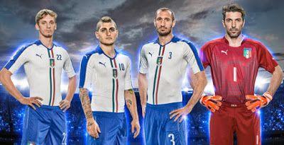 Comprar camisetas baratas de futbol 2015 2016 : Camiseta de fútbol baratas Copa de Europa Italia 2...