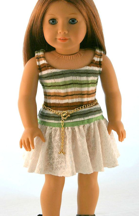 american girl doll clothes original knit shrug striped sweater tank textured knit skirt and. Black Bedroom Furniture Sets. Home Design Ideas