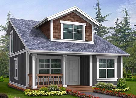 On this one I like the floor plans and front, but I'm not a big fan of the salt box style rooflines.