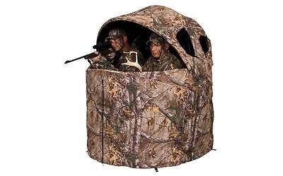 Blinds 177910: Ameristep Deluxe 2-Person Tent Chair Blind In Realtree Xtra -> BUY IT NOW ONLY: $119.99 on eBay!