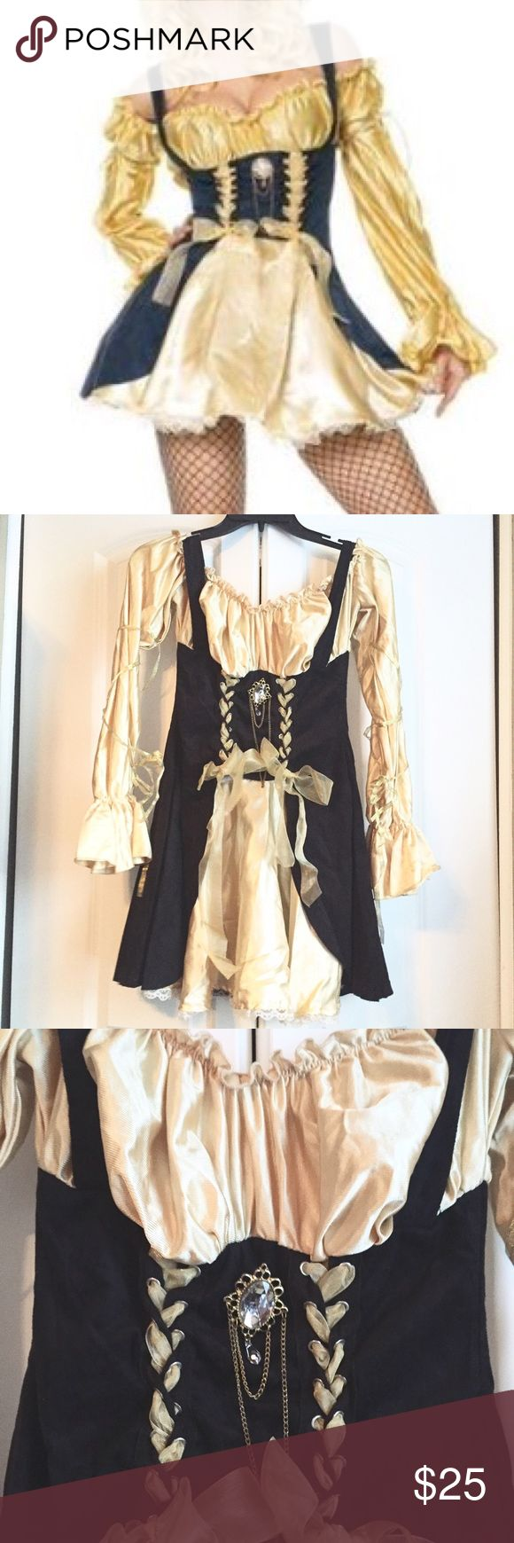 🎃 Halloween Costume Sale 🎃 Pirate Wench From Leg Avenue. Gently used.  ✖️No trades or offers ❗️Closing my closet soon Leg Avenue Dresses