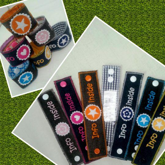 Notfall-Armbänder für Kinder...