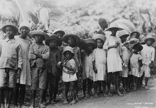 Children, Martinique @1930