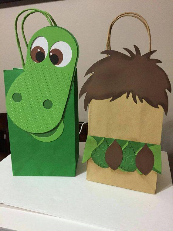 Dinosaurio buena inspiración bolsas de chuchería por LoluParty