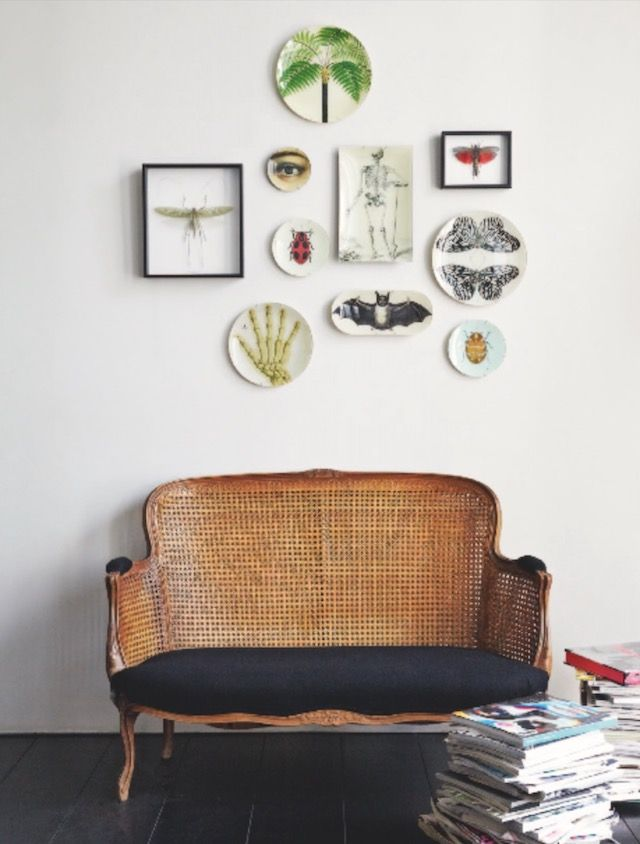 Move over, wicker, cannage/ caning is trending, and it's trending big! Here is a selection of caned furniture and decor elements in action.