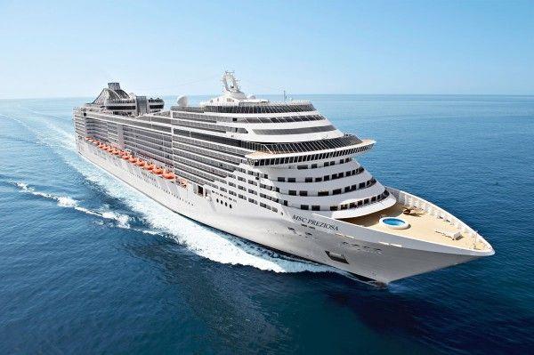 MSC Preziosa. Akční nabídky plaveb z Benátek pro rok 2014