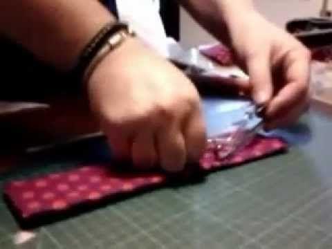 Come fare un portaocchiali con poche cuciture
