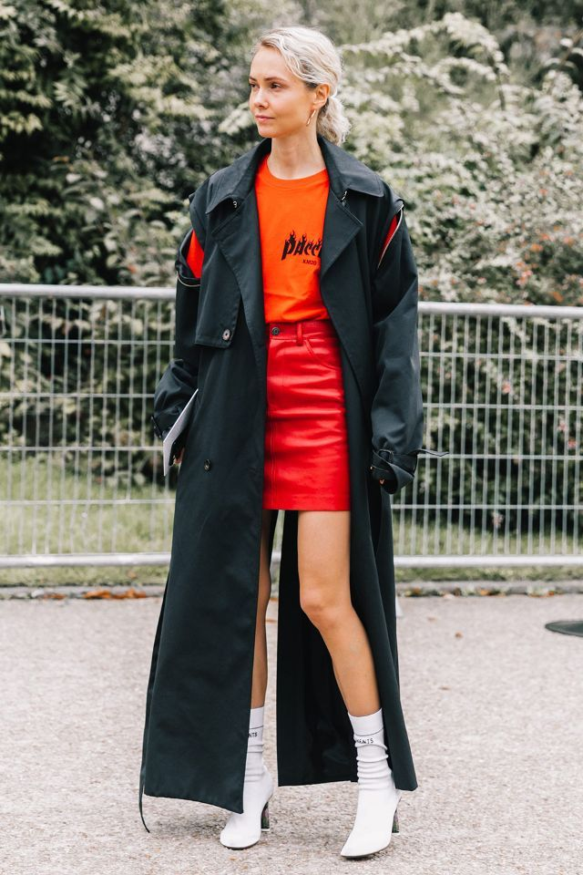 This long '90s trench is the personification of edginess.