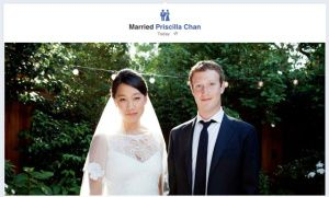 """One of the most memorable status updates in the history of Facebook - Mark Zuckerberg's status change to """"married"""" gets over 1 million likes."""