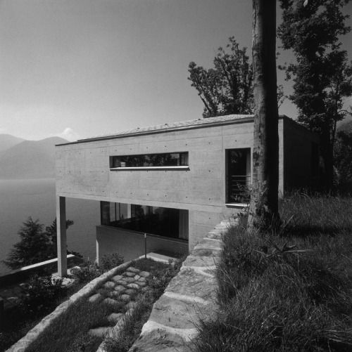 Luigi Snozzi, Diener House, Switzerland