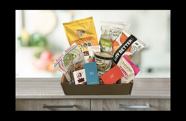 Gluten, dairy & junk free food boxes for all your cooking, baking & snacking needs!
