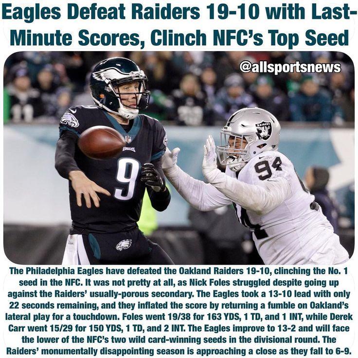 #PhiladelphiaEagles #Eagles #Philadelphia #OaklandRaiders #Raiders #NFL #Football #allsportsnews #sportsnews #sports #breakingnews #news