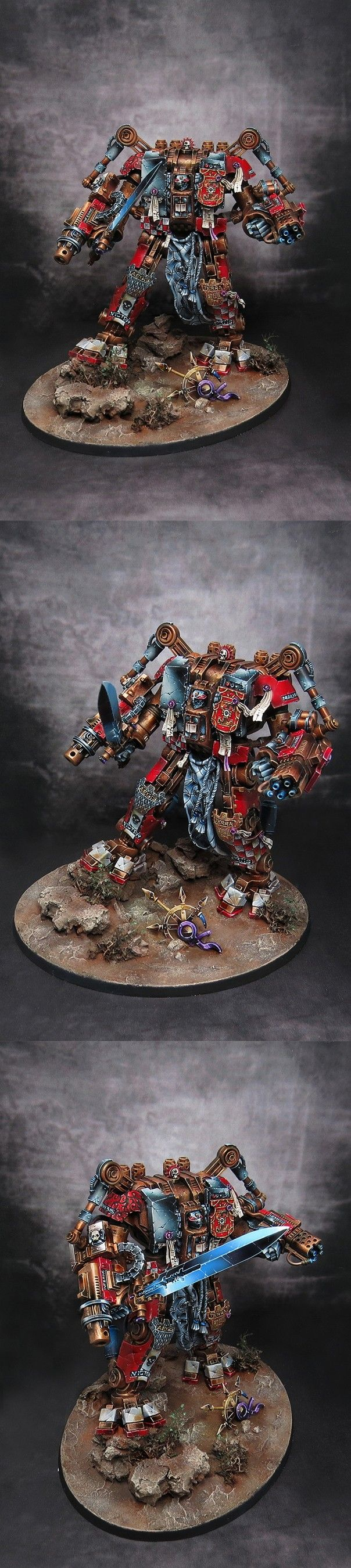 40k - Grey Knights Nemesis Dreadknight by Shizune