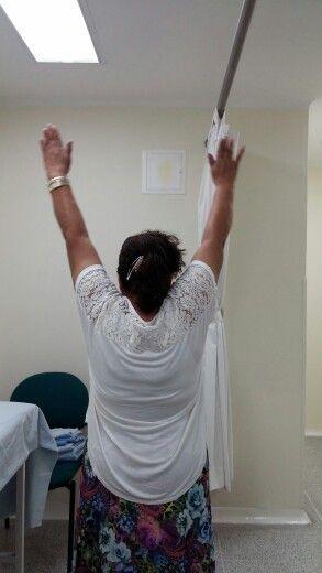 POP reparacion artroscopica manguito rotador derecho. 8 semanas #cirugiadehombro