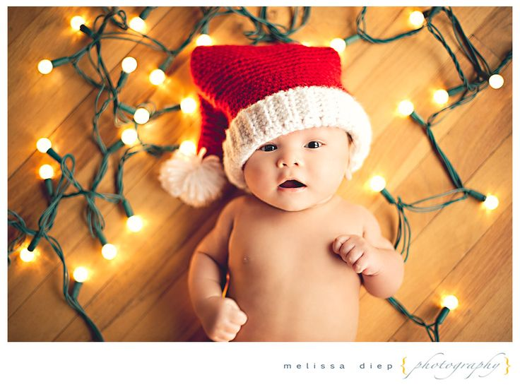 baby christmas picture ideas