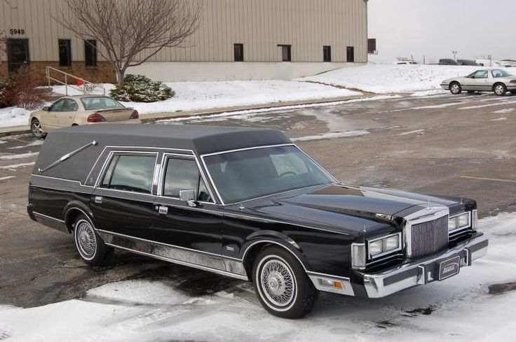 1988 Lincoln Town Car Hearse By The Eagle Coach Company