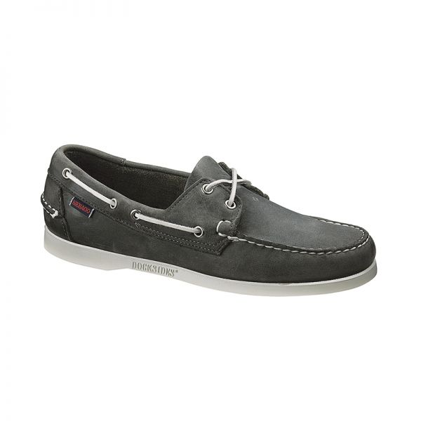 Docksides Smoke by #Sebago  #BoatShoe Grey suede  xigoros.com