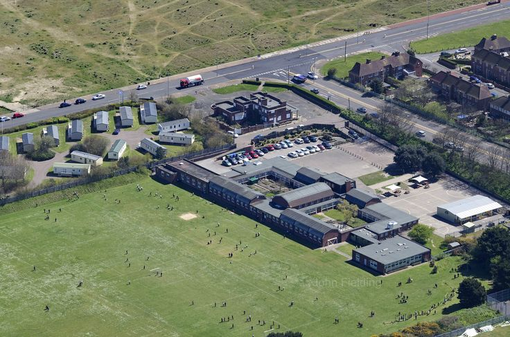 North Denes School in Great Yarmouth Aerial Images | by John D F
