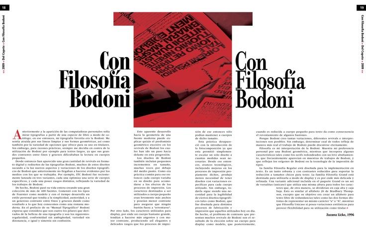 Trabajo final - Tipografía II - Cátedra Gaitto - Revista de la Cátedra - 18-19