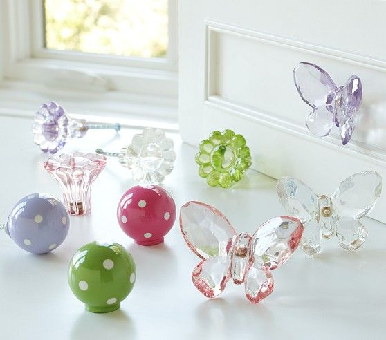 Girlsu0027 Knob Collection | Pottery Barn Kids