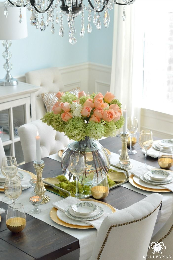 Golden Garden Table Simple Summer Farewell Dining Room Table