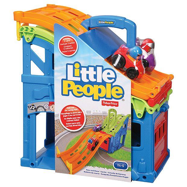 Fisher-Price Little People Wheelies Fold 'N Race Carrier