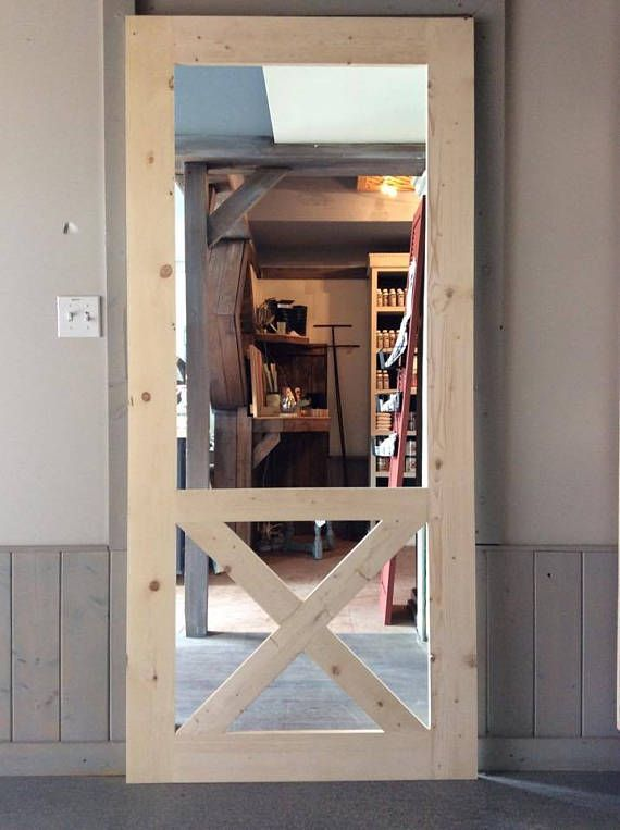 Best 25 screen door pantry ideas on pinterest for Barn door screen door