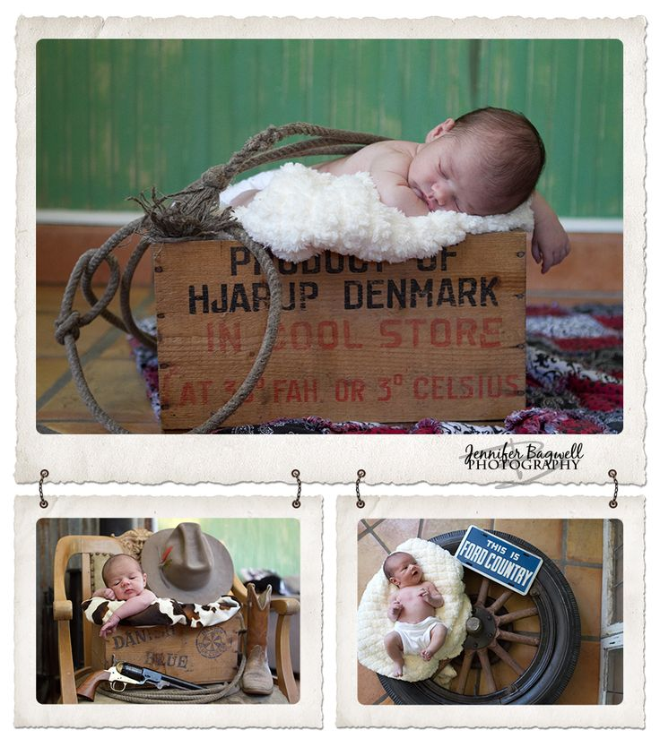 newborn baby boy and his tire..... his name is Henry Ford so the sign was very fitting to his name