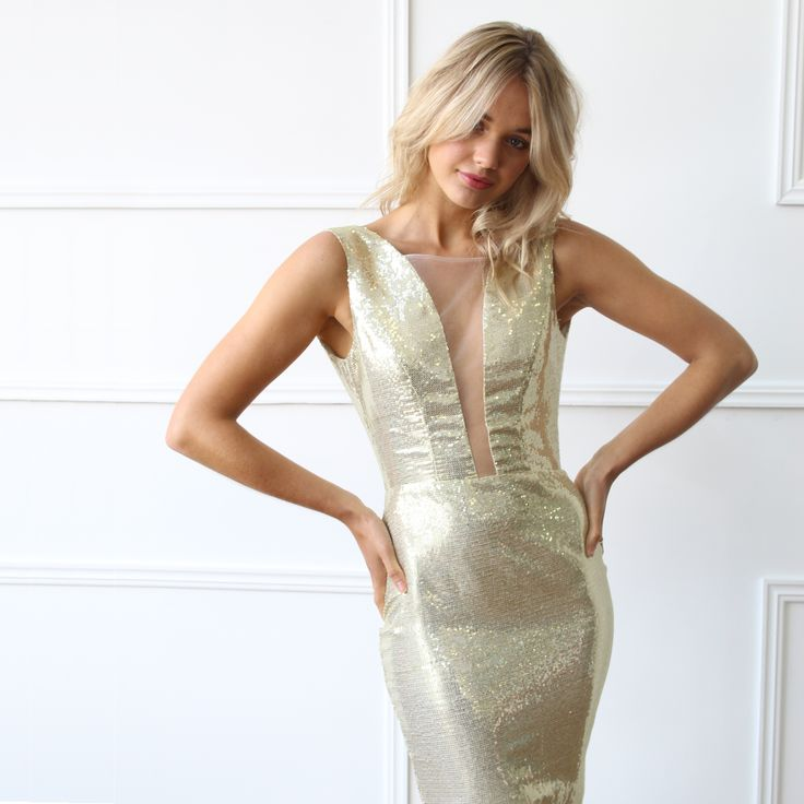 Luom.O - Luminiere Dress // Available to hire in size 8 for $299